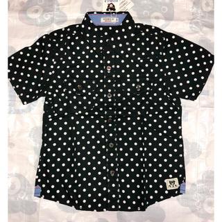 ダブルビー(DOUBLE.B)の新品タグ付き ミキハウス ダブルB ドットシャツ 120(ブラウス)