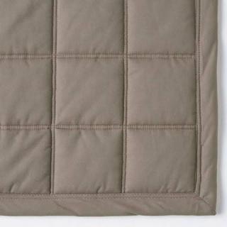 MUJI (無印良品) - 【無印良品】綿ななこ織抗菌洗えるキルティングラグ