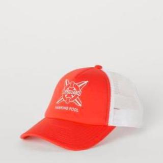 エイチアンドエム(H&M)の新品 タグ付き H&M ストレンジャーシングス キャップ レッド(キャップ)
