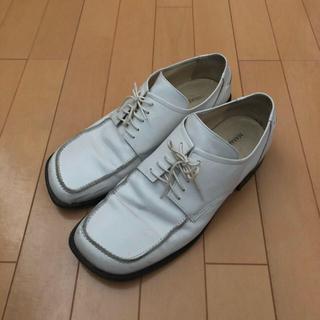 ジョンローレンスサリバン(JOHN LAWRENCE SULLIVAN)のMasaki matsushima スクエアトゥ レザーシューズ(ブーツ)