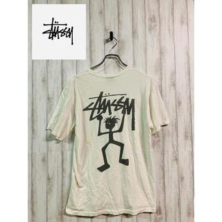 STUSSY - 80s90s STUSSY ステューシー バックロゴ Tシャツ ビッグロゴ旧ロゴ