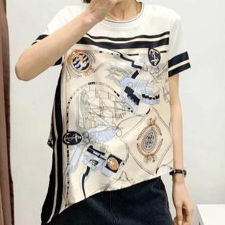 ZARA - レディース スカーフ Tシャツ 新品 未着用 夏 半袖