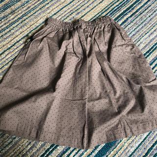 タルティーヌ エ ショコラ(Tartine et Chocolat)のタルティーヌエショコラ 130cm ドット柄スカート(スカート)