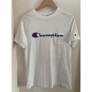 チャンピオン(Champion)の【サイズM】チャンピオン Tシャツ 胸ポケ付き(Tシャツ/カットソー(半袖/袖なし))
