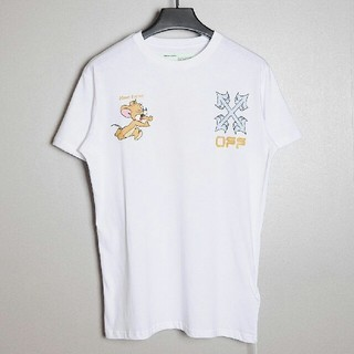 オフホワイト(OFF-WHITE)のOFF WHITE 20ss ジェリー プリント半袖tシャツ「トム and ジェ(Tシャツ/カットソー(半袖/袖なし))