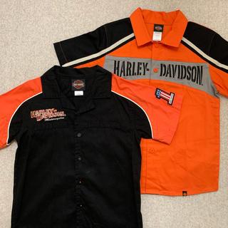 ハーレーダビッドソン(Harley Davidson)の※クロネコマメ様専用 セット【HARLEY DAVIDSON】シャツ 7T(Tシャツ/カットソー)
