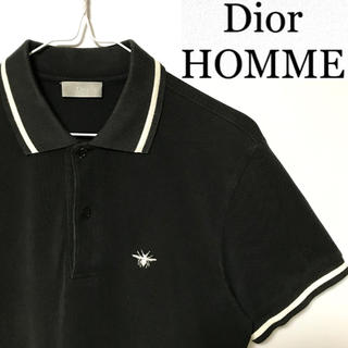 DIOR HOMME - 希少!イタリア製!Dior Homme ディオールオム BEE蜂刺繍 ポロシャツ