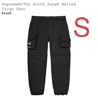 Supreme - 【黒S】 Supreme x TNF Belted Cargo Pant