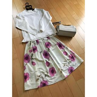 CECIL McBEE - CECIL McBEE 花柄スカート タグ付き新品未使用品