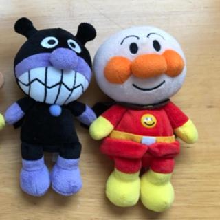 アンパンマン(アンパンマン)のアンパンマンとバイキンマンぬいぐるみ(キャラクターグッズ)