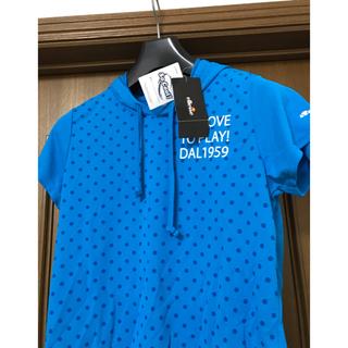 エレッセ(ellesse)の新品タグ付  ellesse スポーツウェア  レディースM(Tシャツ(半袖/袖なし))