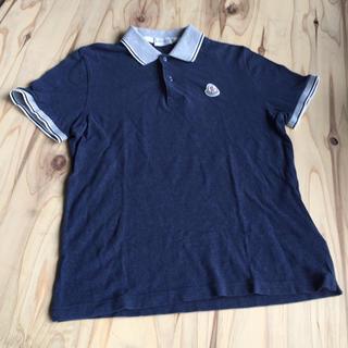 モンクレール(MONCLER)のMONCLER モンクレール 半袖ポロシャツ マリアポロマニカコルタ(ポロシャツ)