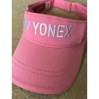 ヨネックス(YONEX)のYONEX ヨネックスバイザー(ピンク)(その他)