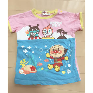 アンパンマン(アンパンマン)のアンパンマン 半袖 Tシャツ 95cm(Tシャツ/カットソー)