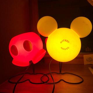 ディズニー(Disney)のDisney インテリアランプ【パンツタイプ】  送料込み(フロアスタンド)