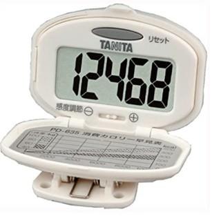 タニタ(TANITA)の運動不足解消の ウオーキングに とってもかんたん タニタ 歩数計 ホワイト(ウォーキング)