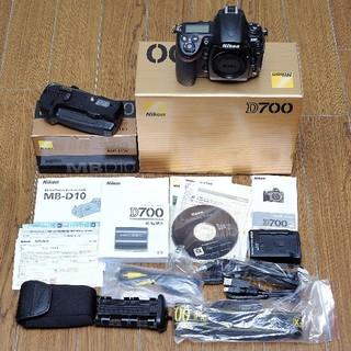 Nikon - ニコン D700 デジタル一眼レフカメラ MB-D10セット