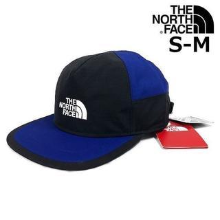 ザノースフェイス(THE NORTH FACE)のノースフェイス キャップ GORE-TEX 黒×青(S-M)180623(キャップ)