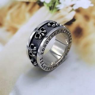 クロムハーツ(Chrome Hearts)のクロムハーツ  レトロ 十字 指輪(リング(指輪))