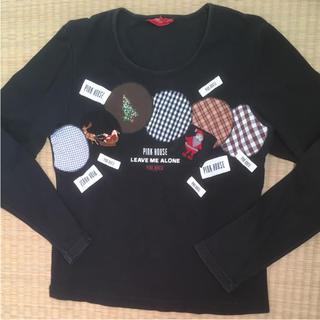 ピンクハウス(PINK HOUSE)のMamanさま専用、ピンクハウス 長袖Tシャツ クリスマス柄(Tシャツ(長袖/七分))