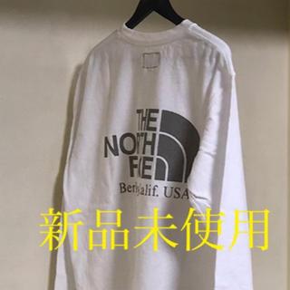 THE NORTH FACE - 新品未使用 THE NORTH FACE PURPLE ロゴT Lサイズ