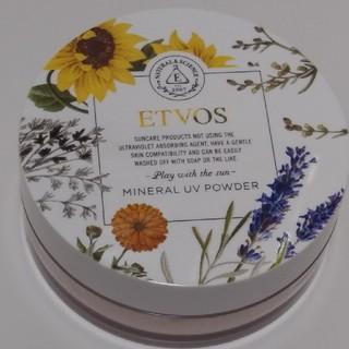 エトヴォス(ETVOS)のETVOS ミネラルUVパウダーIII(フェイスパウダー)