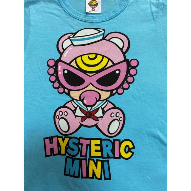 HYSTERIC MINI(ヒステリックミニ)の専用セーラーテディTシャツ90センチ キッズ/ベビー/マタニティのキッズ服男の子用(90cm~)(Tシャツ/カットソー)の商品写真
