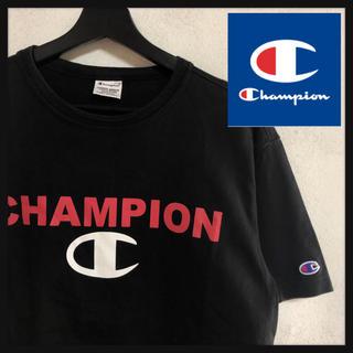 チャンピオン(Champion)の【ビッグサイズ】チャンピオン☆ビッグロゴ入り半袖Tシャツ 人気カラー 定番モデル(Tシャツ/カットソー(半袖/袖なし))
