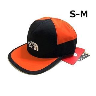 ザノースフェイス(THE NORTH FACE)のノースフェイス キャップ GORE-TEX 黒×オレンジ(S-M)180623(キャップ)