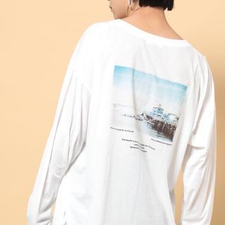 フリークスストア(FREAK'S STORE)のバックプリントTシャツ(Tシャツ(長袖/七分))