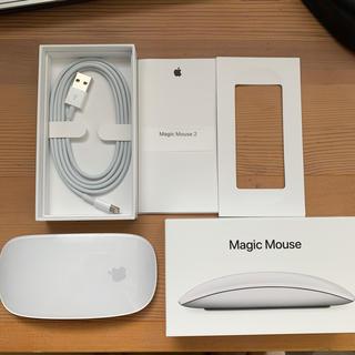 Apple - Apple magic mouse 2 美品 数回使用 アクセサリ未使用