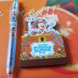 Disney - メモ帳&ボールペン