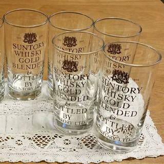 サントリー - サントリー ウイスキーゴールド タンブラー グラス 5個