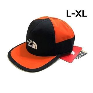 ザノースフェイス(THE NORTH FACE)のノースフェイス キャップ GORE-TEX 黒×オレンジ(L-XL)180623(キャップ)