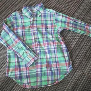ラルフローレン(Ralph Lauren)のラルフローレン マドラスチェックシャツ(ブラウス)