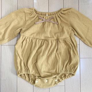 Caramel baby&child  - utakatadeco ロンパース