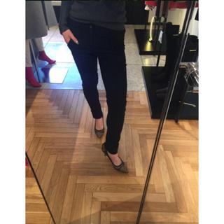 ダブルスタンダードクロージング(DOUBLE STANDARD CLOTHING)のダブスタ メリルハイテンションベルトパンツ 36(カジュアルパンツ)