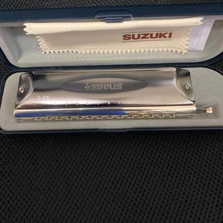 クロマチックハーモニカ 美品 Suzuki SIRIUS S-56(ハーモニカ/ブルースハープ)