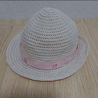 ファミリア(familiar)のファミリア 麦わら帽子 ピンク(帽子)