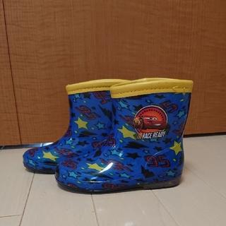 ディズニー(Disney)の美品!カーズ  長靴(長靴/レインシューズ)