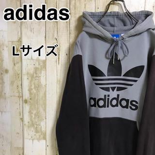adidas - adidas アディダスオリジナルス パーカー トレフォイル ゆるダボ
