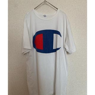 チャンピオン(Champion)の【Champion】チャンピオン ビッグロゴ Tシャツ(Tシャツ/カットソー(半袖/袖なし))