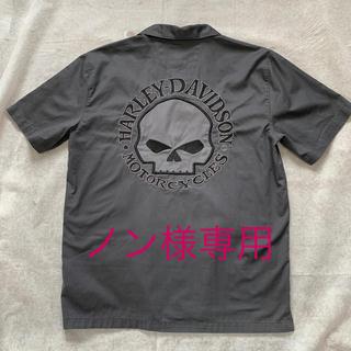 ハーレーダビッドソン(Harley Davidson)のハーレーダビッドソン メンズ 開襟シャツ M(装備/装具)