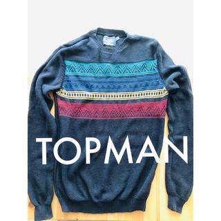トップマン(TOPMAN)のTOPMAN ニットセーター Sサイズ(ニット/セーター)