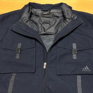 アディダス(adidas)のアディダス adidas ブルゾン フルジップ 刺繍ロゴ XL(ブルゾン)