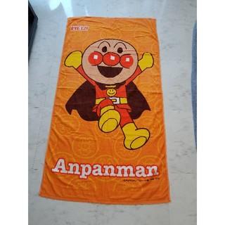 アンパンマン(アンパンマン)のアンパンマン どでかタオル(キャラクターグッズ)