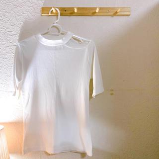 ギャルフィット(GAL FIT)のアシメリブカットソー(カットソー(半袖/袖なし))