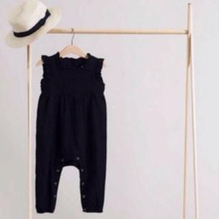 Caramel baby&child  - minimom nancyjampsuit black 4Y