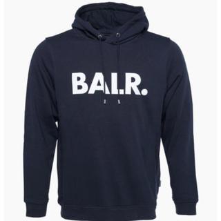 BALR ボーラー  パーカー ネイビー Mサイズ