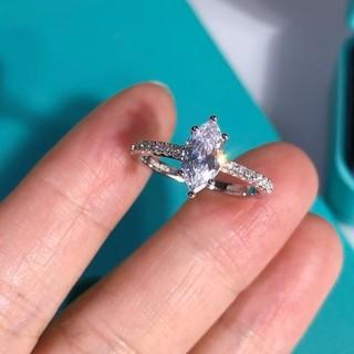 Tiffany & Co. - 素敵❤️ Tiffany リング 人気 指輪 レディース 7号